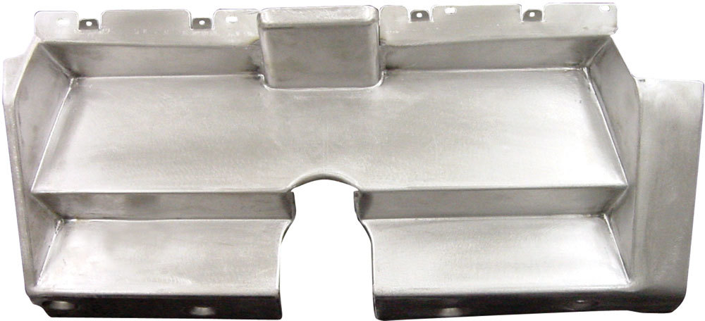 Detroit Speed 010401V Gauge Mounting Panel, Steel, Natural, Chevy Camaro 1969, Each