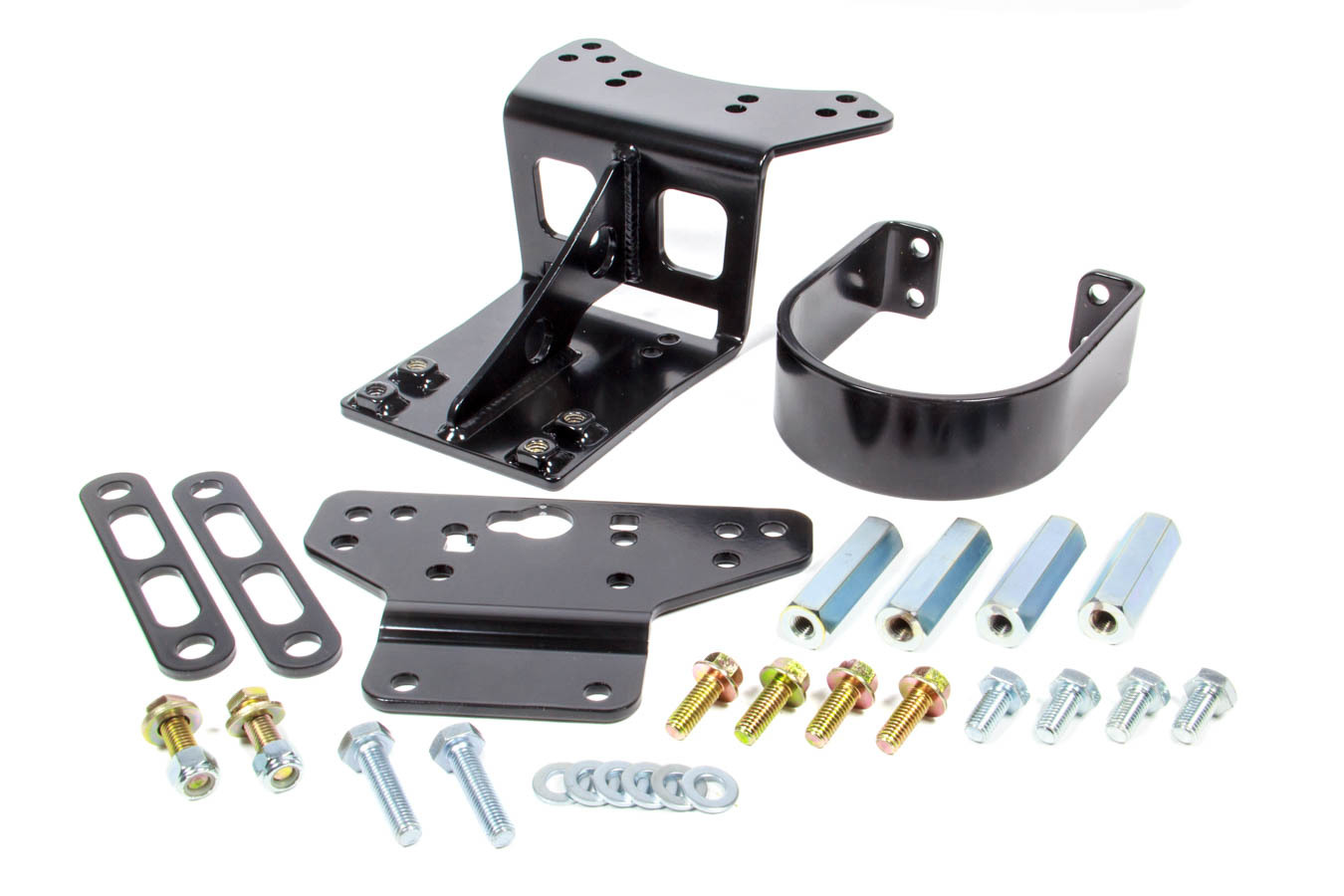 Detroit Speed 011204 Drive Shaft Loop, Front, Bolt-On, Steel, Black Powder Coat, Chevy Camaro 2010-14, Kit