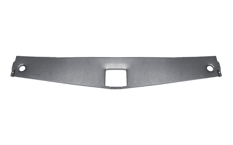 Detroit Speed 011502 Closeout Panel, Upper Core Support, Aluminum, Natural, GM F-Body 1967-69, Each