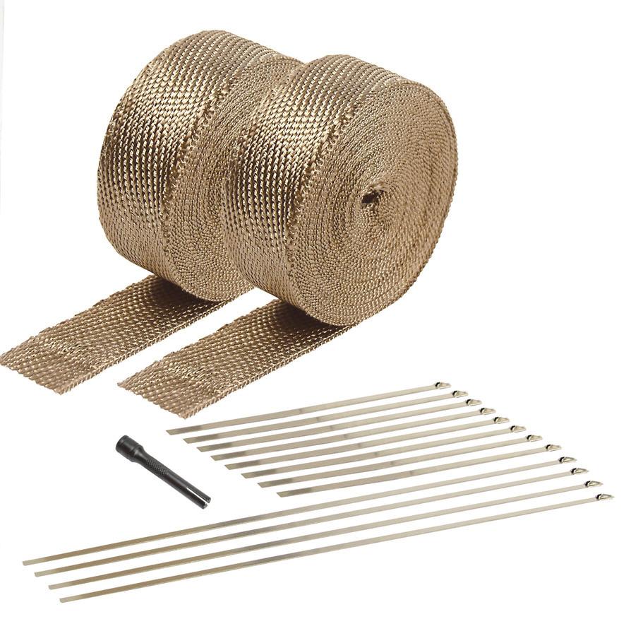 Exhaust & Pipe Wrap Kit Titanium