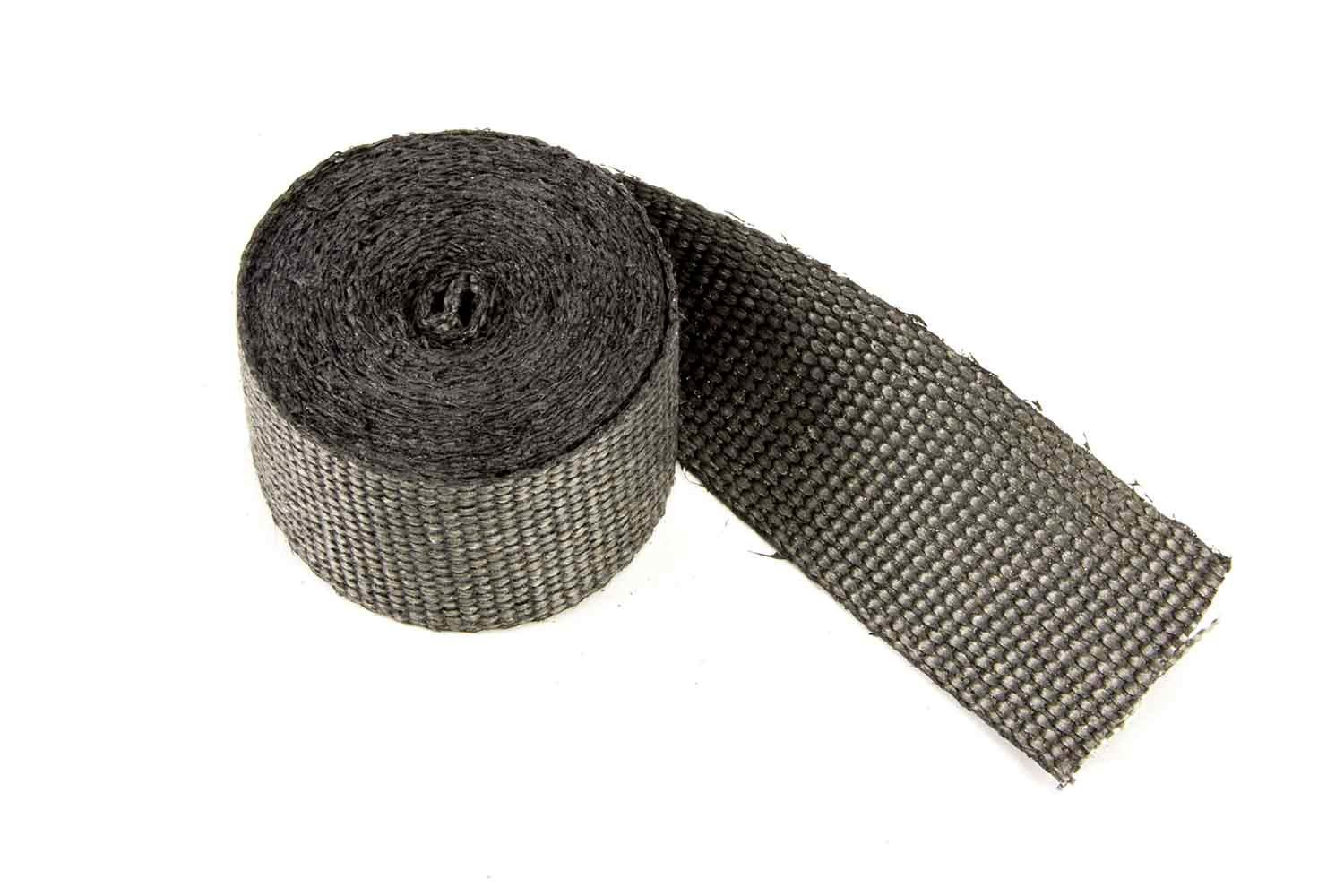 2in x 15' Exhaust Wrap Black Glass