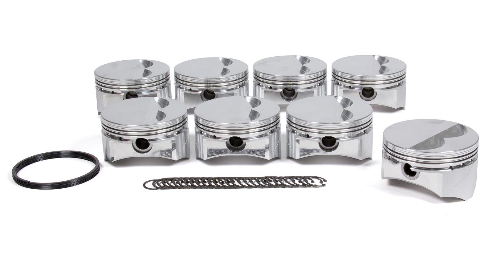 SBC GSX Piston Set 4.030 F/T -5cc
