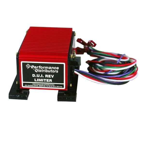 Performance Distributors 380777 Rev Limiter, Adjustable, Pill Adjustable, Red, HEI Distributors, Each