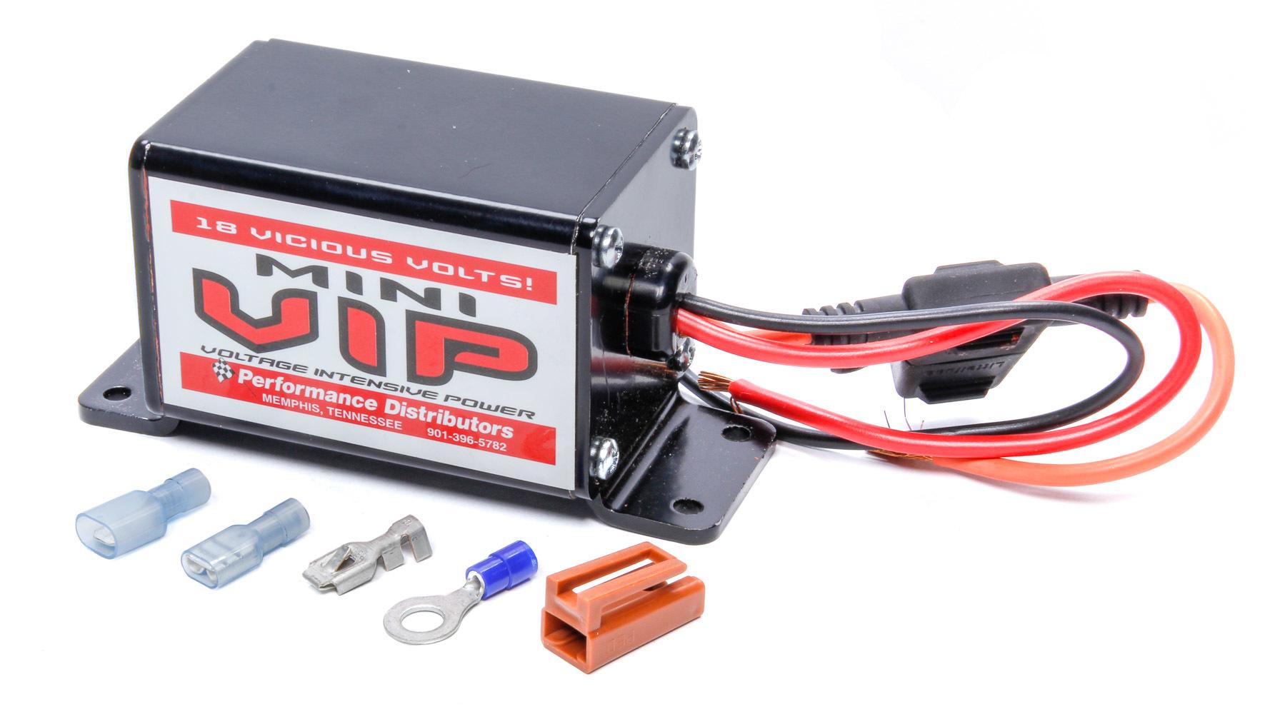 Performance Distributors 5577 Voltage Regulator, Mini VIP, 14V to 18V, Each