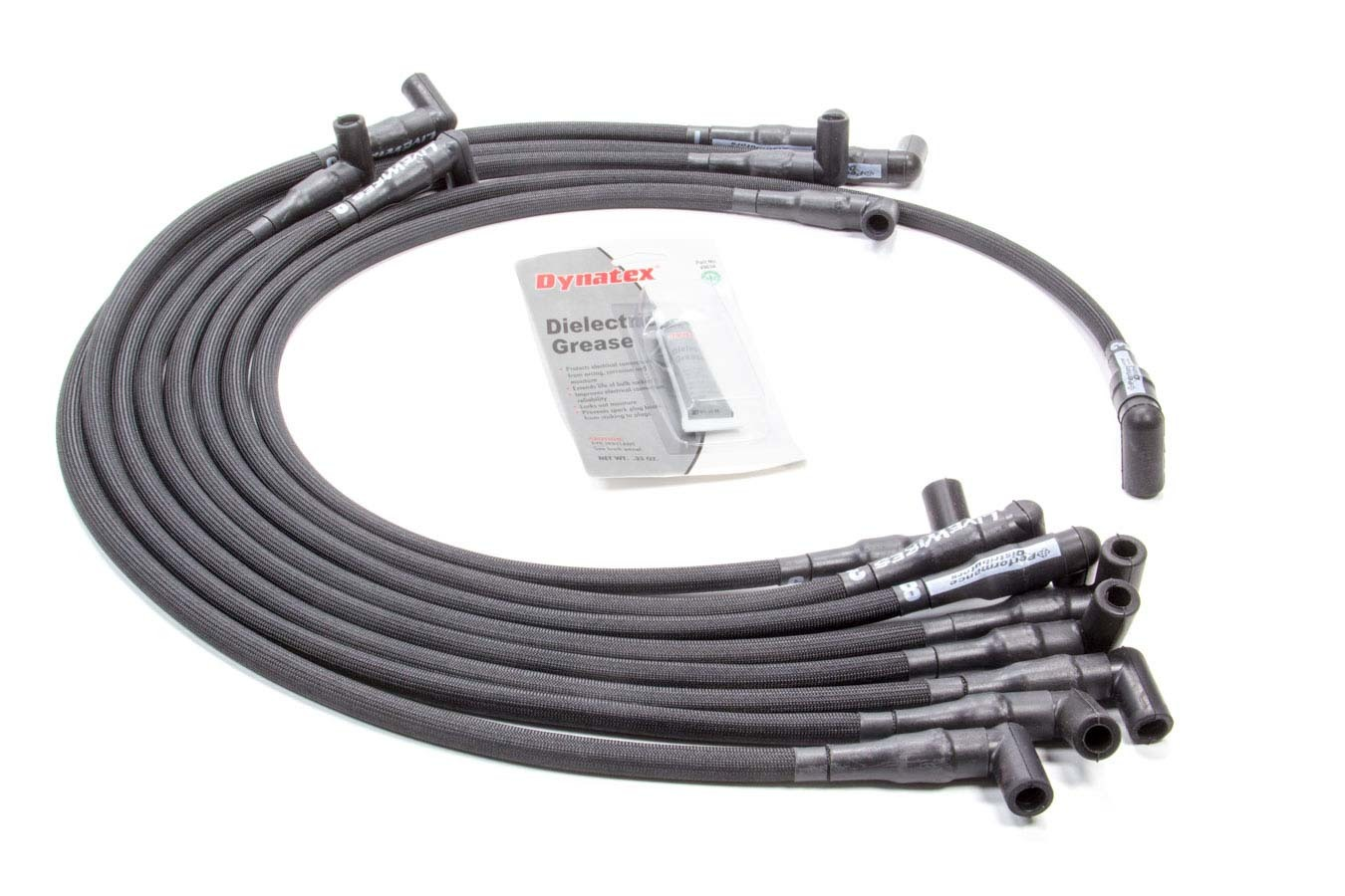 Live Wires SBC Under Headers HEI 90 Deg Black