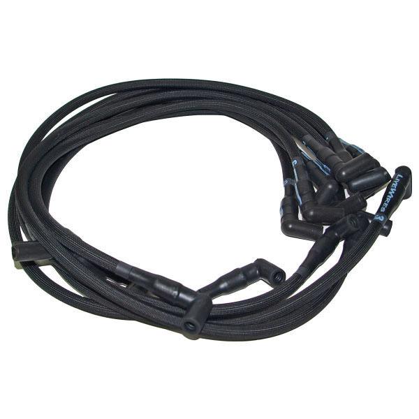 Live Wires BBC Under Headers HEI 90 Deg Black