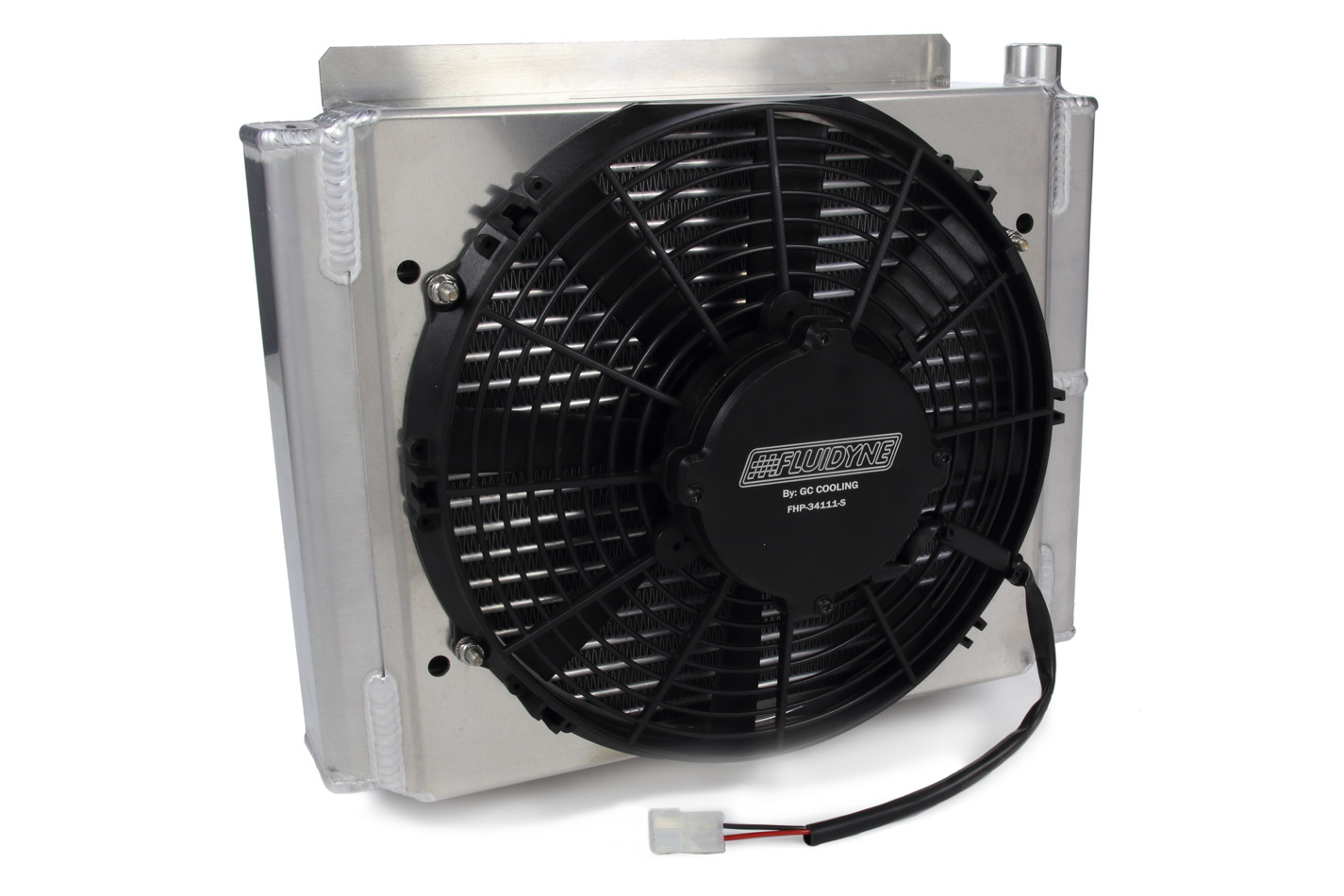 Transmission Cooler w/ Fan & Shroud Double Pass