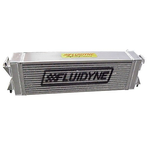 Fluidyne Performance FHP35-COB-HX Intercooler, Blade Runner, Aluminum, Natural, Cobra, Ford Mustang 2003-04, Each