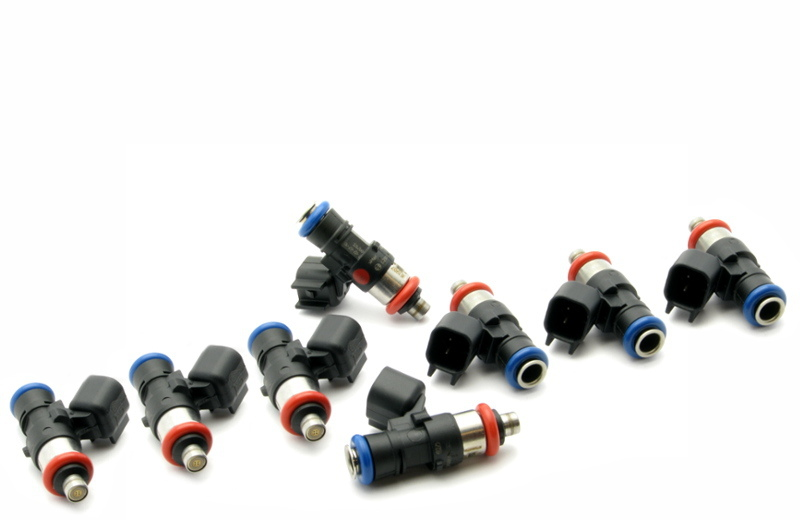 Deatschwerks 16U-00-0090-8 Fuel Injector, Bosch EV14, 90 lb/hr, USCAR Connector, Universal, Set of 8