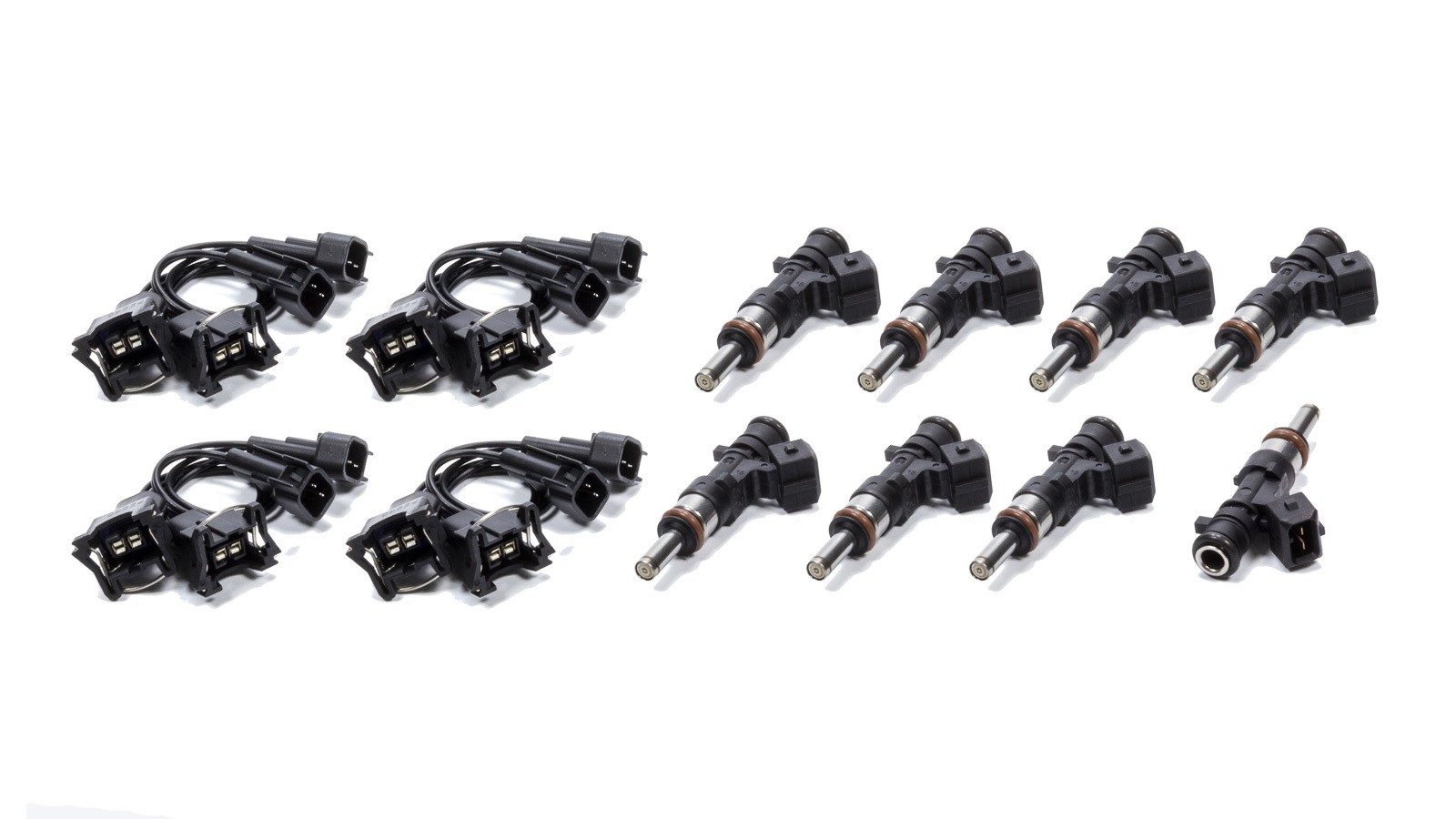 Deatschwerks 17MX-03-1100-8 Fuel Injector, 105 lb/hr, Hellcat, Mopar Gen III Hemi, Dodge LA-Body / LC-Body 2015-17, Set of 8