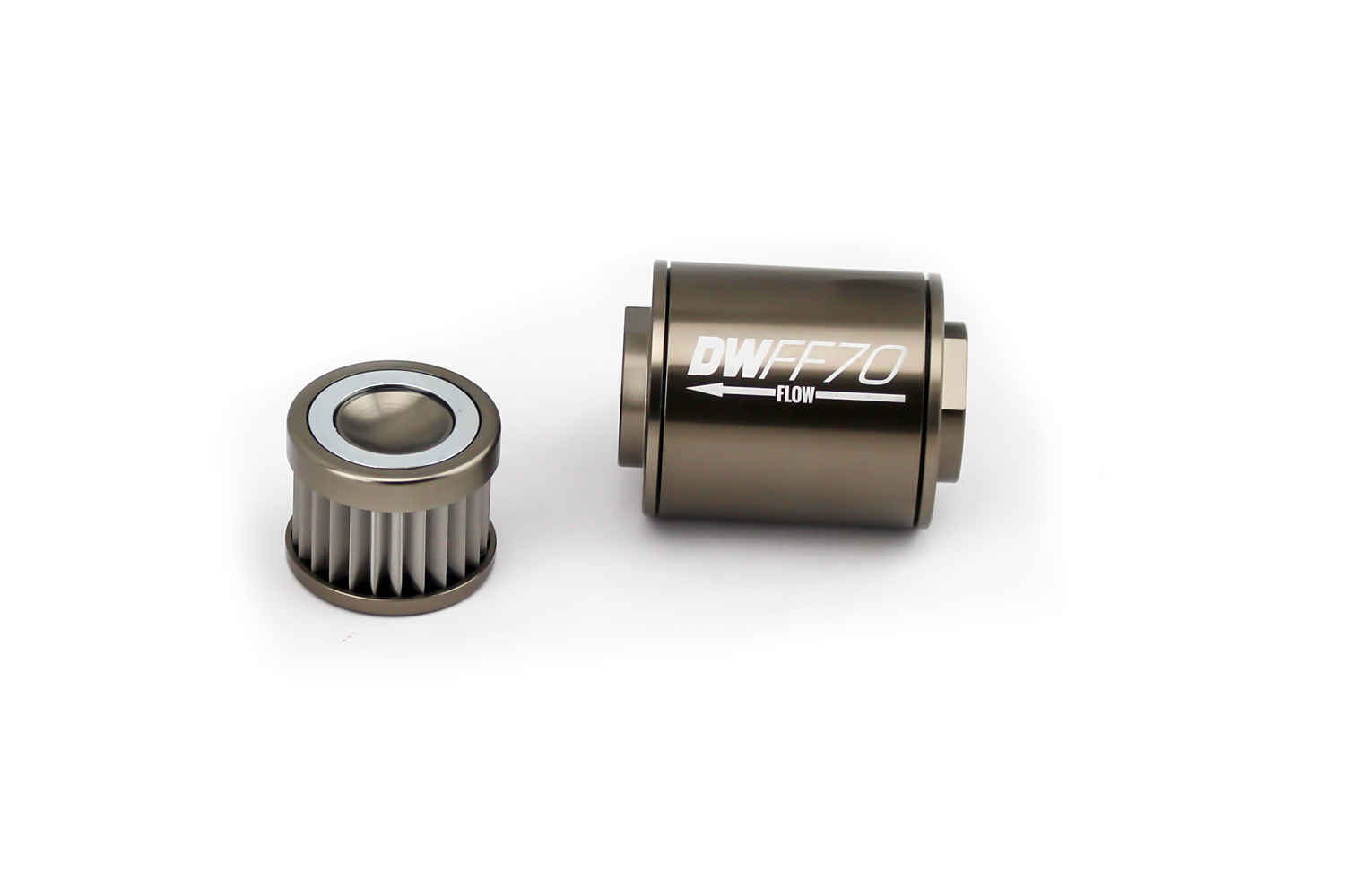 System One 209-512B 10-Micron No Bypass Billet Fuel Filter