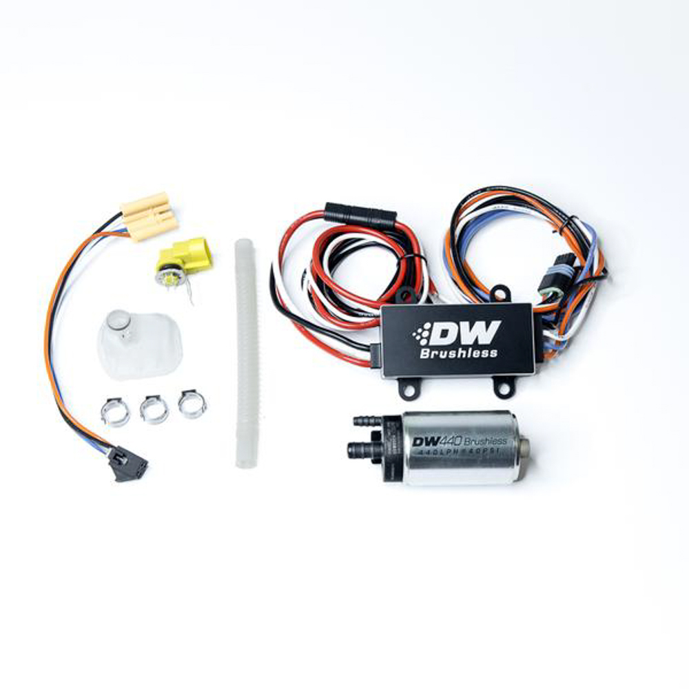 Deatschwerks 9-441-C102-0904 Fuel Pump, DW440, Electric, In-Tank, 440 lph, Install Kit, Gas / Ethanol, Speed Controller Included, Mazda RX-8 2004-08 / Nissan 370Z 2009-20, Kit