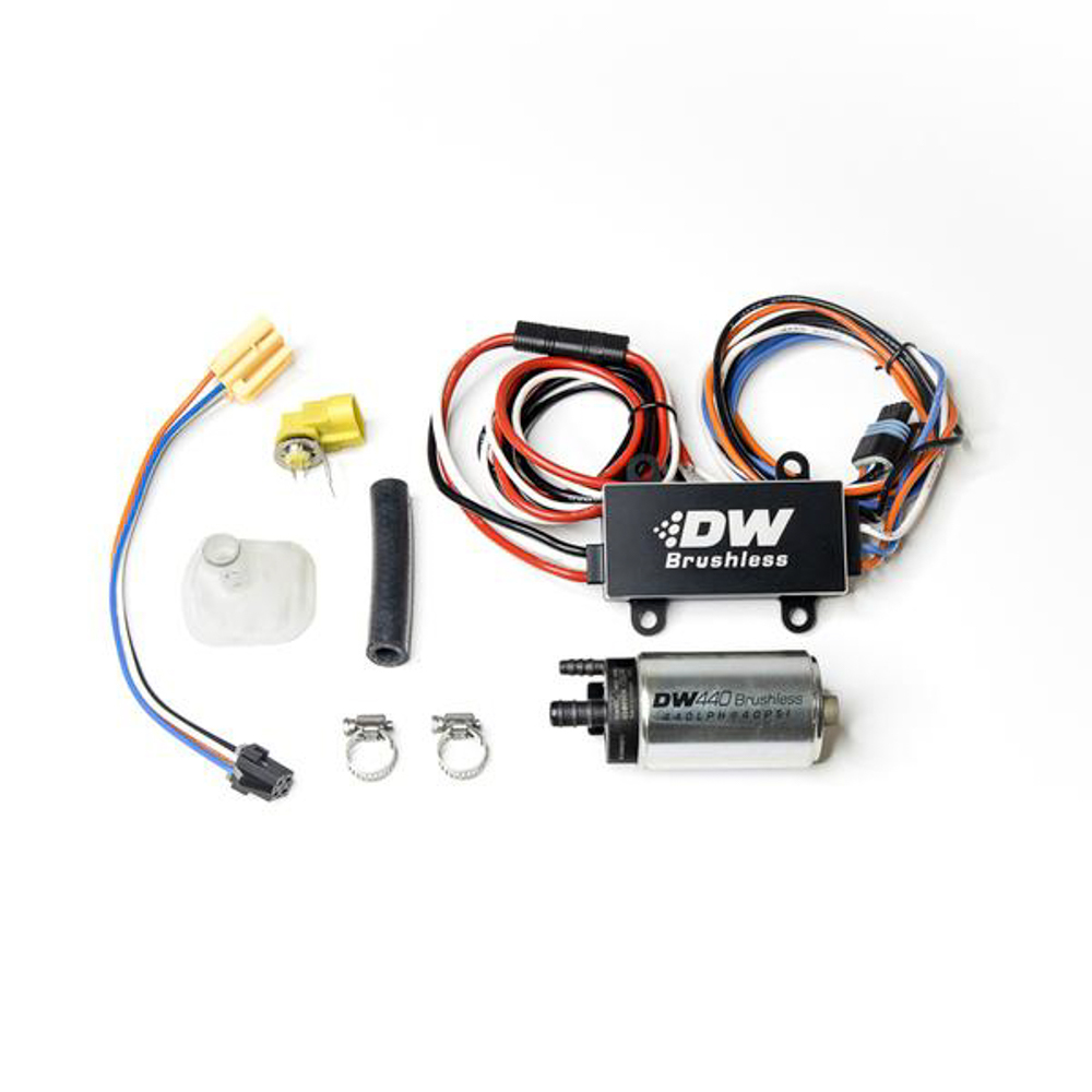Deatschwerks 9-441-C102-0905 Fuel Pump, DW440, Electric, In-Tank, 440 lph, Install Kit, Gas / Ethanol, Speed Controller Included, Ford Mustang 2005-10, Kit
