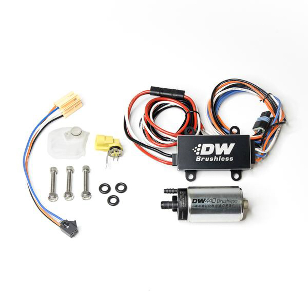 Deatschwerks 9-441-C102-0912 Fuel Pump, DW440, Electric, In-Tank, 440 lph, Install Kit, Gas / Ethanol, Speed Controller Included, Ford Fiesta 2014-19, Kit