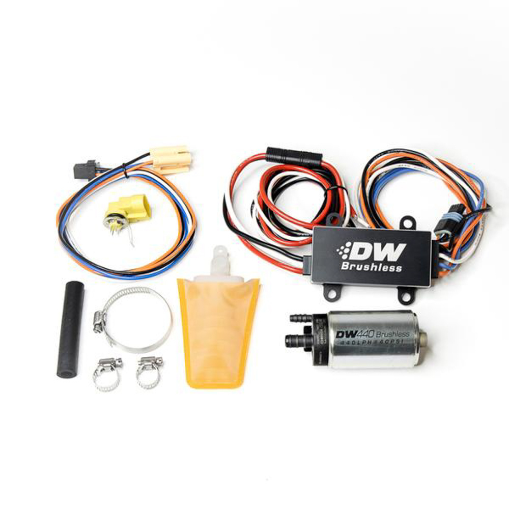 Deatschwerks 9-441-C102-0913 Fuel Pump, DW440, Electric, In-Tank, 440 lph, Install Kit, Gas / Ethanol, Speed Controller Included, Nissan SX 1994-98, Kit