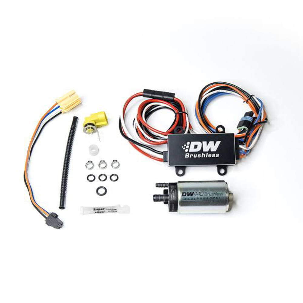 Deatschwerks 9-442-C102-0902 Fuel Pump, DW440, Electric, In-Tank, 440 lph, Install Kit, Gas / Ethanol, Speed Controller Included, Chevy Camaro 2016-21, Kit