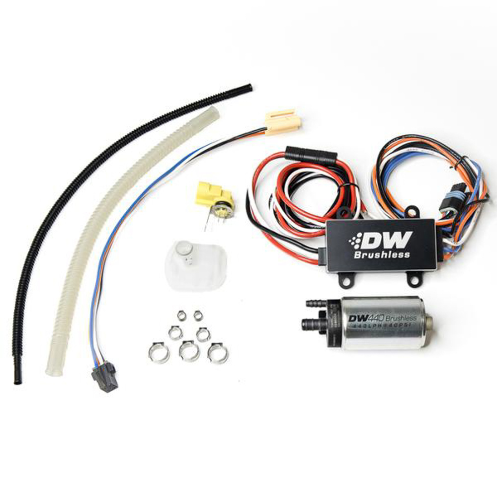 Deatschwerks 9-442-C103-0909 Fuel Pump, DW440, Electric, In-Tank, 440 lph, Install Kit, Gas / Ethanol, Speed Controller Included, Chevy Corvette 2003-13, Kit