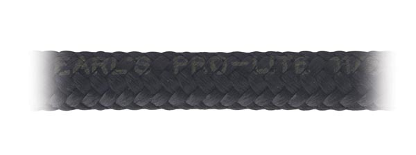 Earls 350320ERL Hose, Pro-Lite, 20 AN, 3 ft, Braided Nylon, Rubber, Black, Each