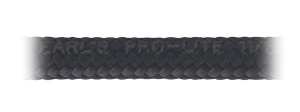 Earls 350320ERL Hose, Pro-Lite, 20 AN, 3 ft, Braided Nylon, Rubber, Black, Each