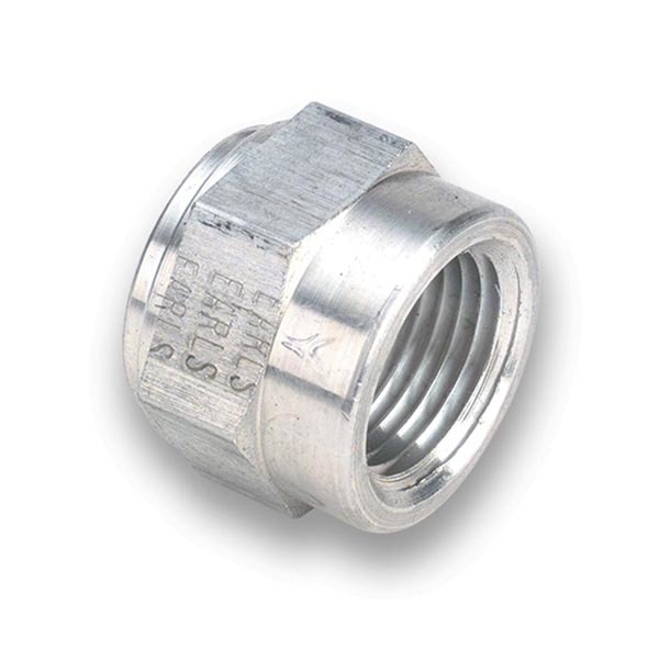 Earls 996702ERL Bung, 1/4 in NPT Female, Weld-On, Aluminum, Natural, Each