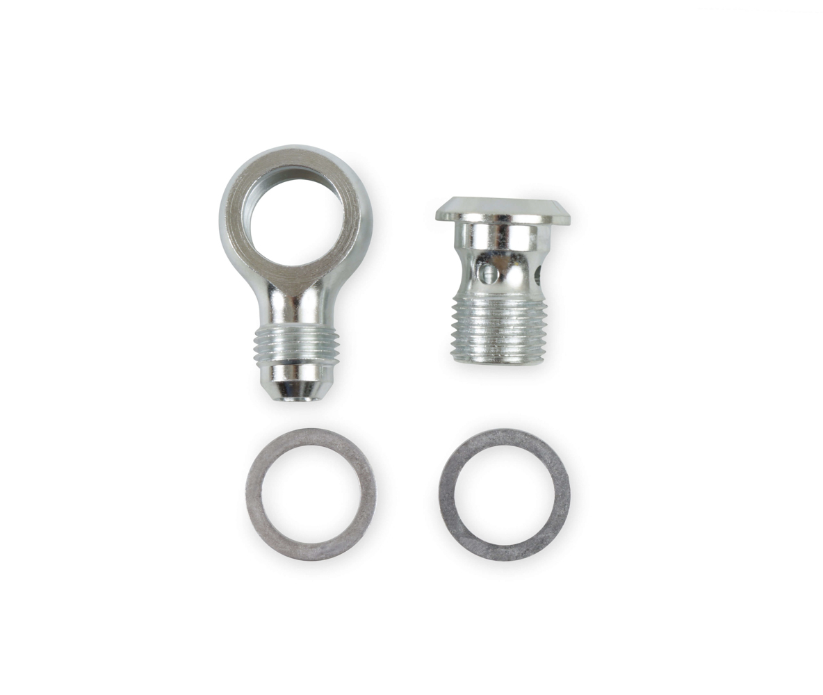 Earls PS0004ERL - Steel Adapter Fitting - #6 Banjo to 16mm x 1.5
