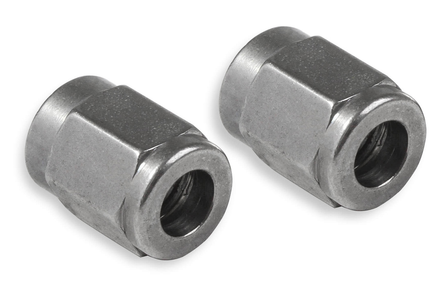 Earls SS581803ERL Fitting, Tube Nut, 3 AN, 3/16 in Tube, Stainless, Natural, Pair