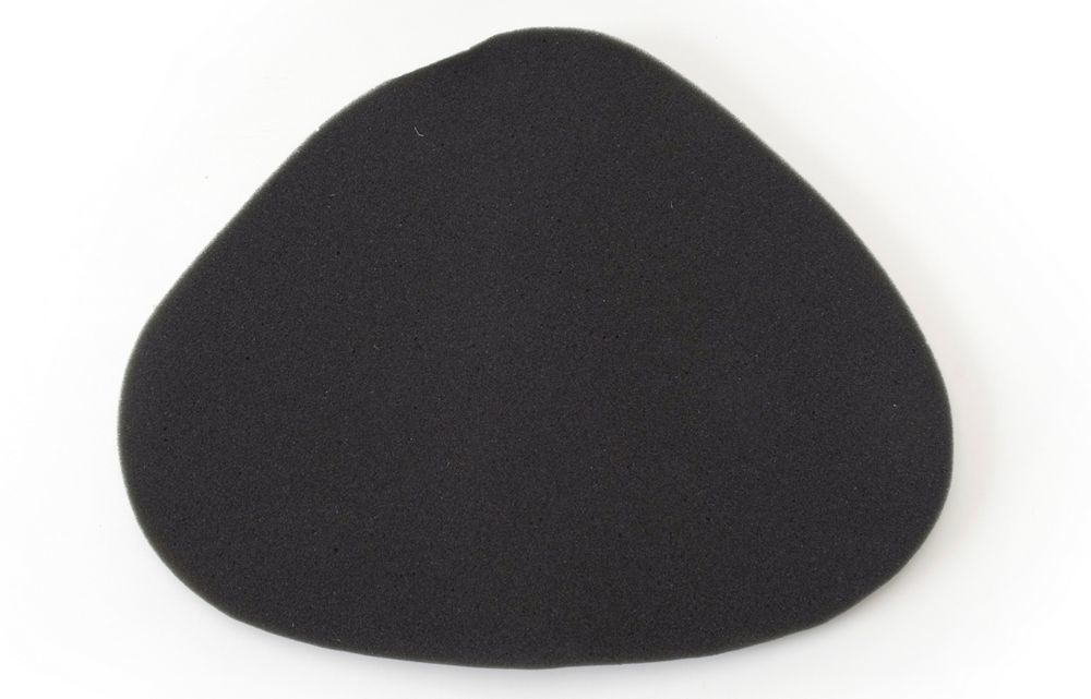 Edelbrock 1099 Air Filter Element, Triangle, Reusable, Black, Edelbrock Pro-Flo 1000, Each