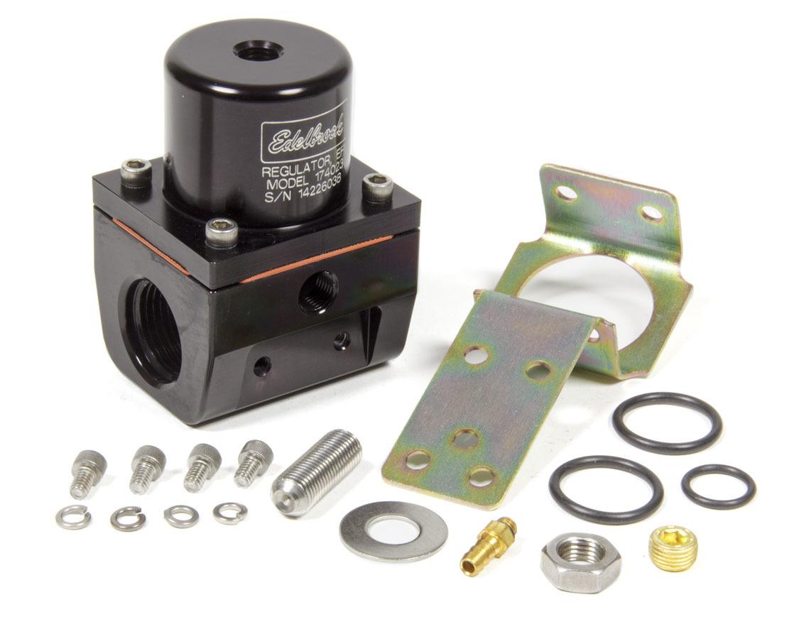 Fuel Pressure Regulator EFI Style 35-90psi Blue