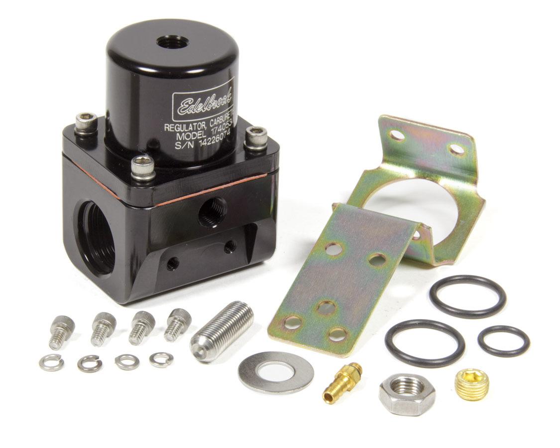 Fuel Pressure Regulator Bypass Style 180GPH Blk