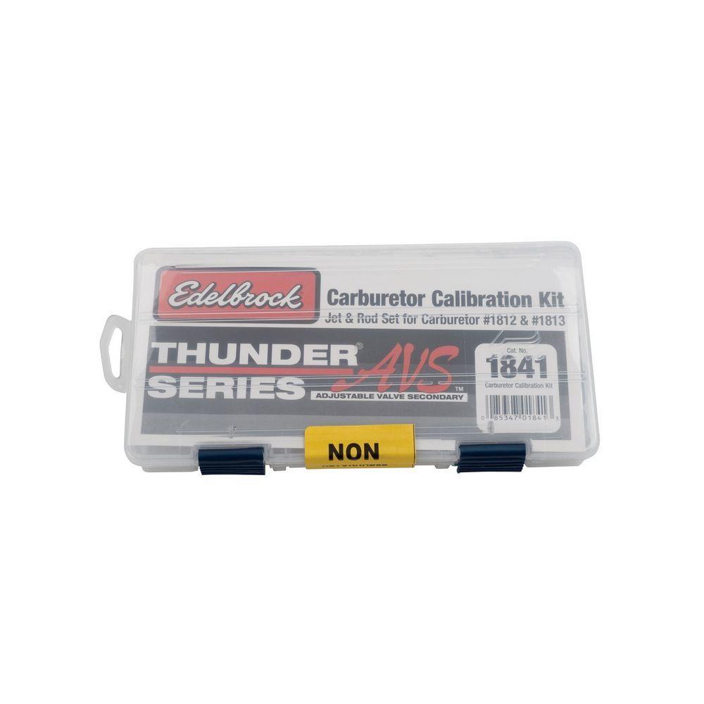 Edelbrock 1841 Carb Calibration Kit, Metering Rods / Metering Jets / Springs / Case, Edelbrock Thunder AVS Carburetors, Kit