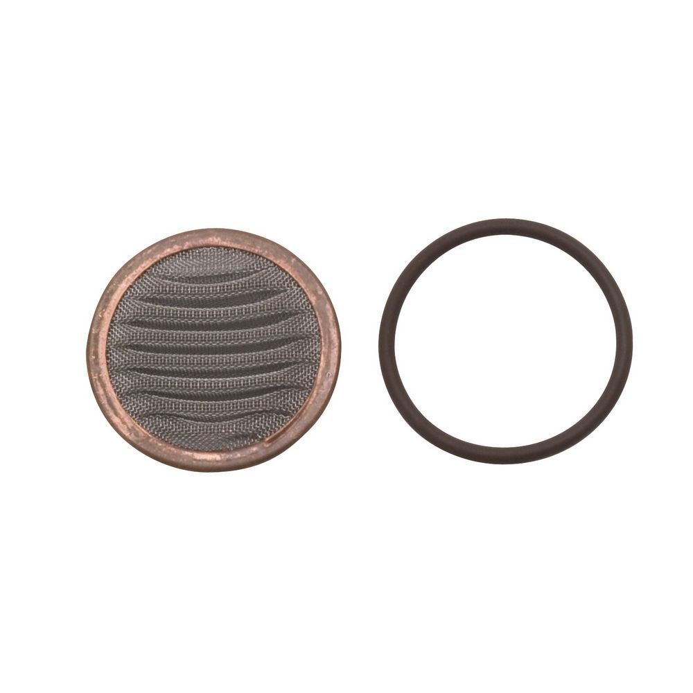 Edelbrock 8137 Fuel Filter Element, 40 Micron, Bronze Element, High Flow Fuel Filters, Each