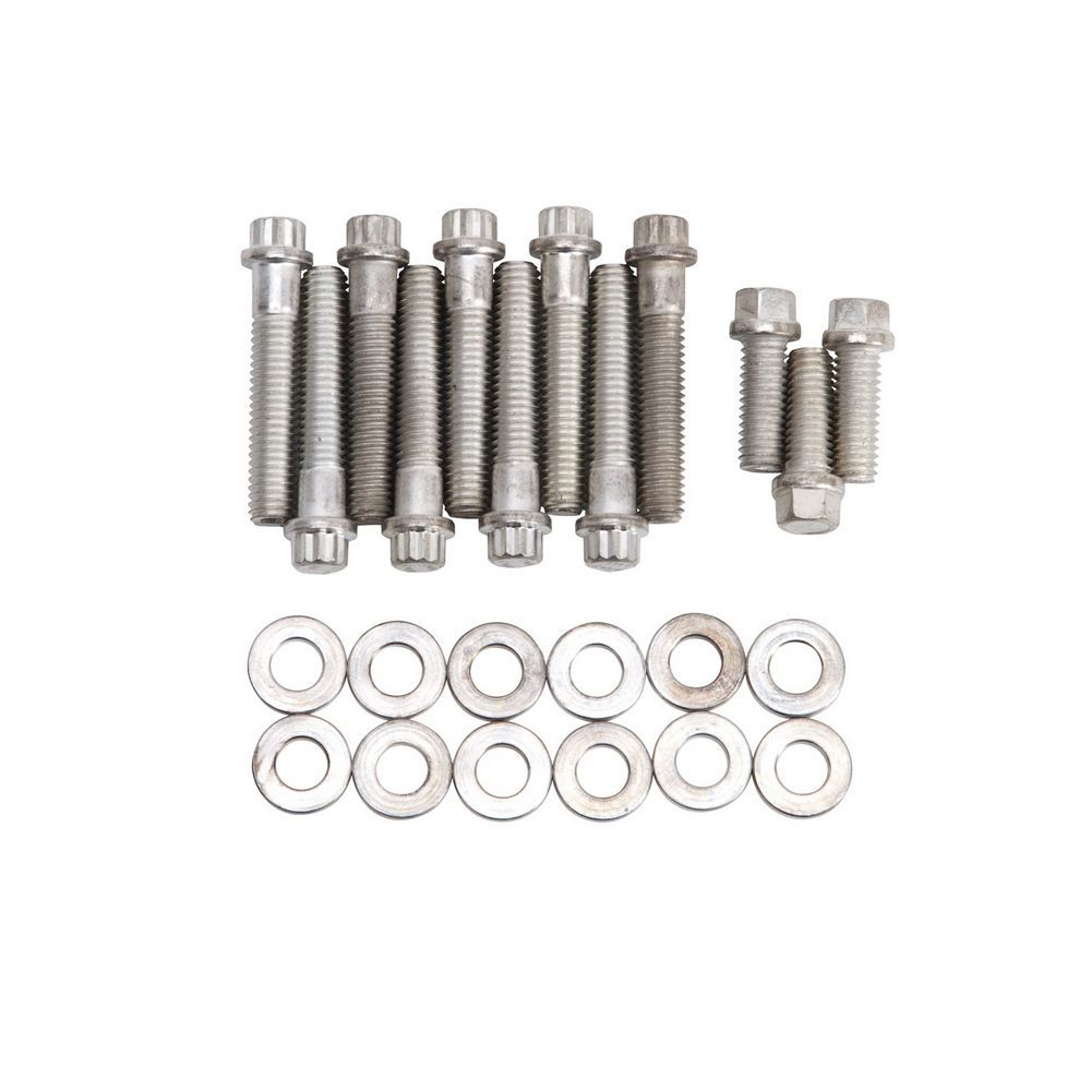 ARP 434-2004 6-Point Stainless Steel Intake Bolt Kit for Small Block Chevy