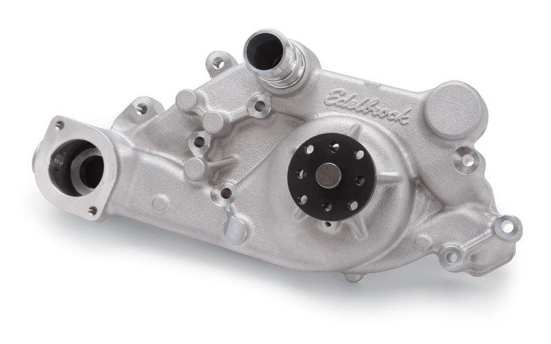 Edelbrock 8893 Water Pump, Mechanical, Victor Series, Reverse Rotation, 3/4 in Pilot, Aluminum, Natural, GM LS-Series, Each