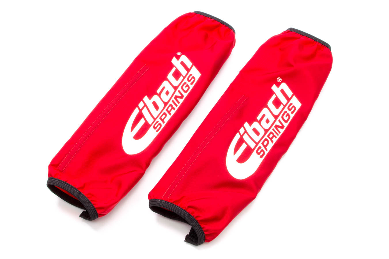 Eibach ESB12-250 Shock Cover, 10-12 in Long, 2.500 in ID Coil-Over, Elastic Ends, Hook and Loop Closure, Nylon, Red, Eibach Shocks, Pair