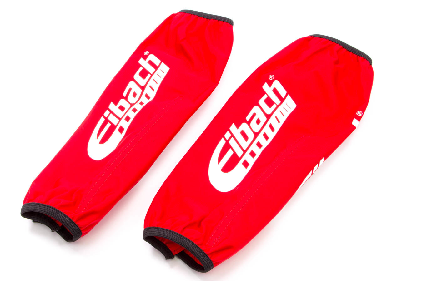 Eibach ESB12-300 Shock Cover, 10-12 in Long, 2.500-3.000 in ID XT Barrel Coil-Over, Elastic Ends, Hook and Loop Closure, Nylon, Red, Eibach Shocks, Pair