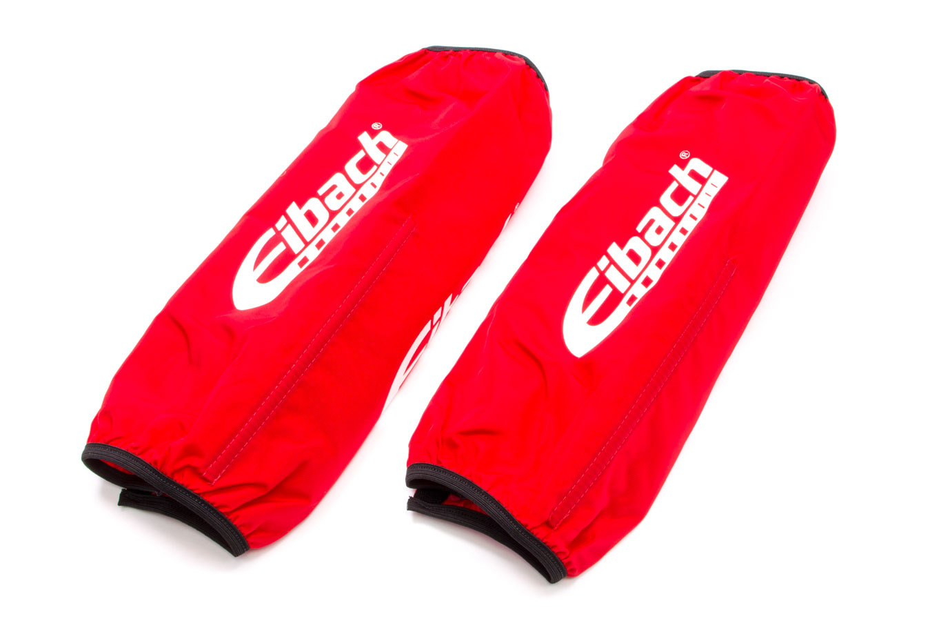 Eibach ESB14-500 Shock Cover, 12-14 in Long, 5.000 in OD Coil-Over, Elastic Ends, Hook and Loop Closure, Nylon, Red, Eibach Shocks, Pair