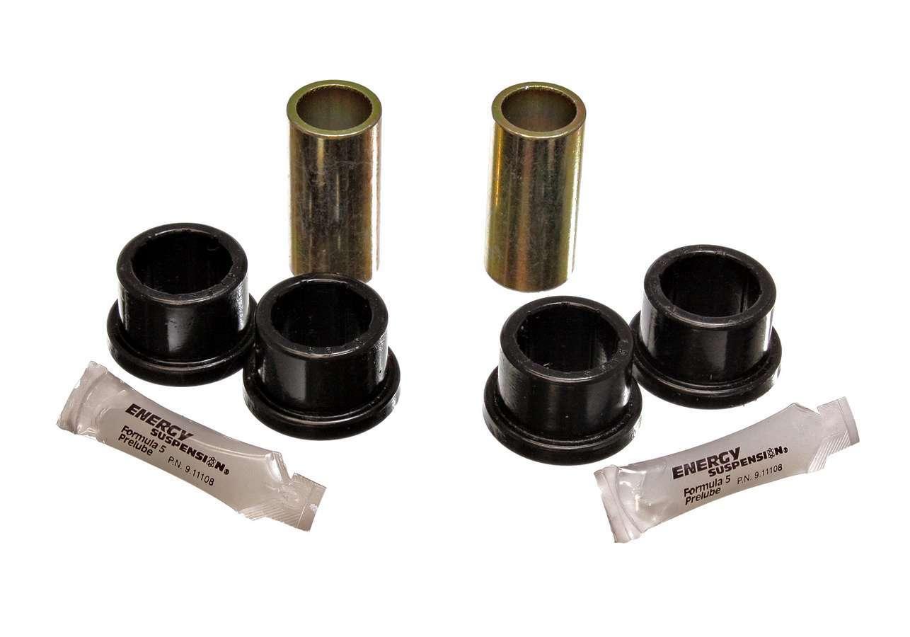 Energy Suspension 15-3105G Control Arm Bushing, Hyper-Flex, Rear, Lower, Polyurethane / Steel, Black / Cadmium, Volkswagen Beetle 1968-78, Kit