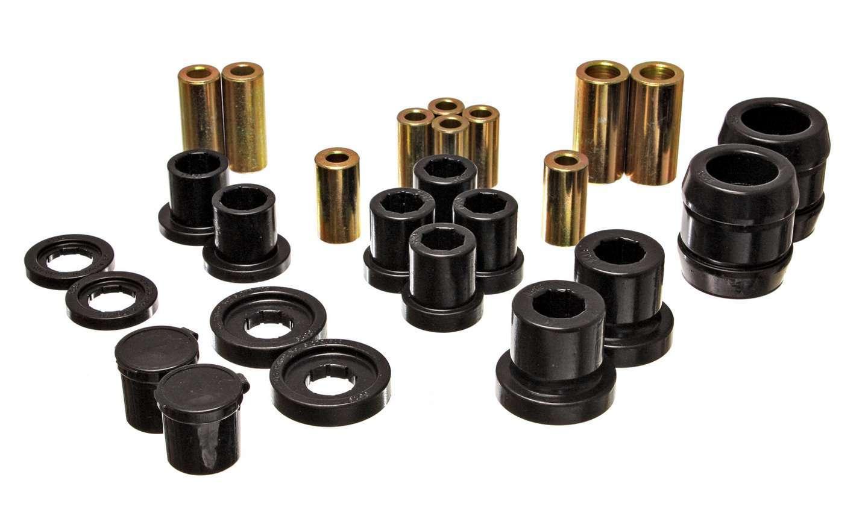 Energy Suspension 16-3120G Control Arm Bushing, Hyper-Flex, Front, Lower/Upper, Polyurethane, Black, Honda S2000 2000-09