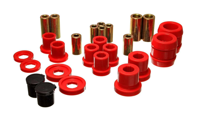 Energy Suspension 16-3120R Control Arm Bushing, Hyper-Flex, Front, Lower / Upper, Polyurethane, Red, Honda S2000 2000-09