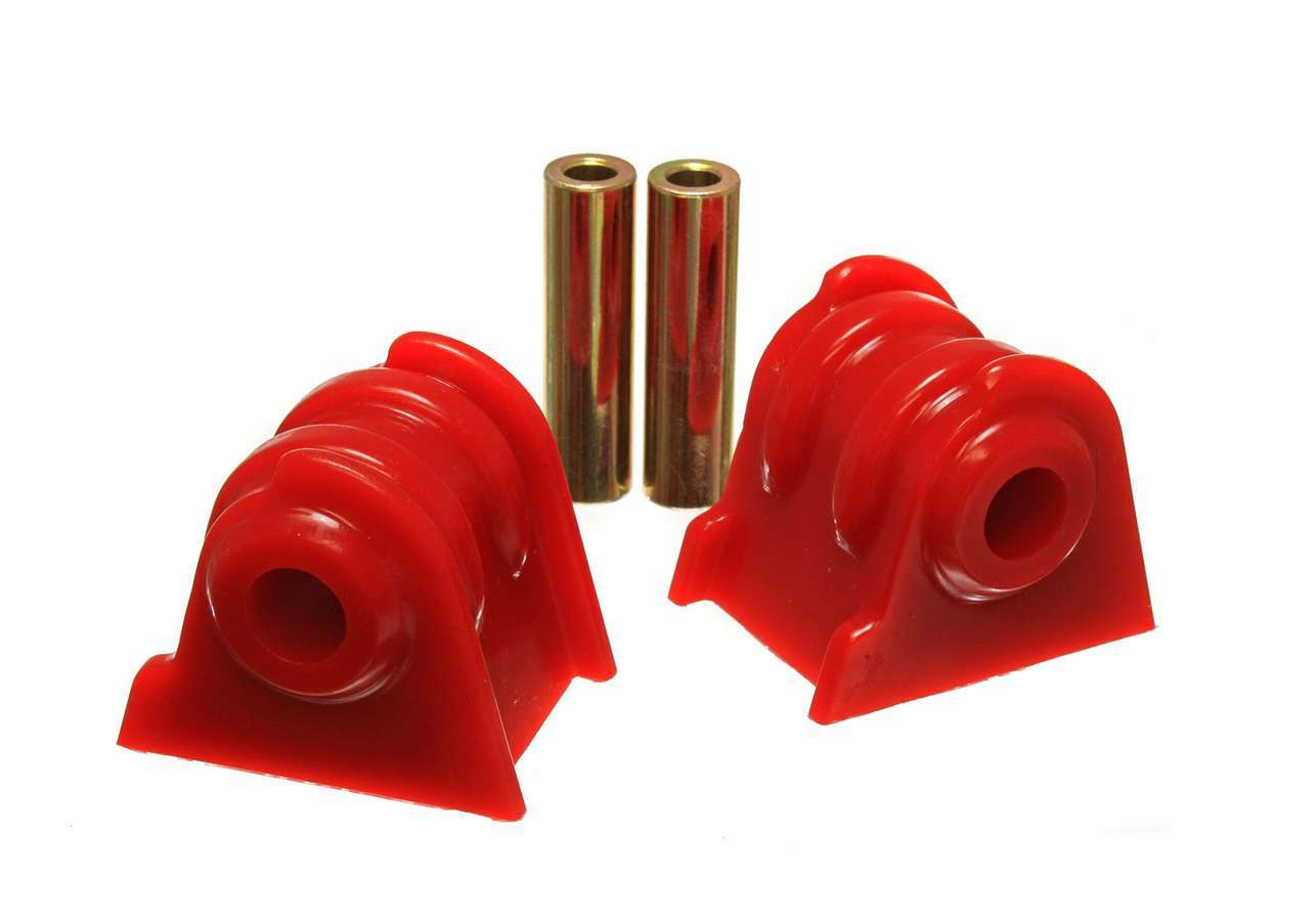 Energy Suspension 2-1104R Motor Mount, Hyper-Flex, Bolt-On, Polyurethane / Steel, Red / Cadmium, Jeep Inline 6, 1987-2006, Kit