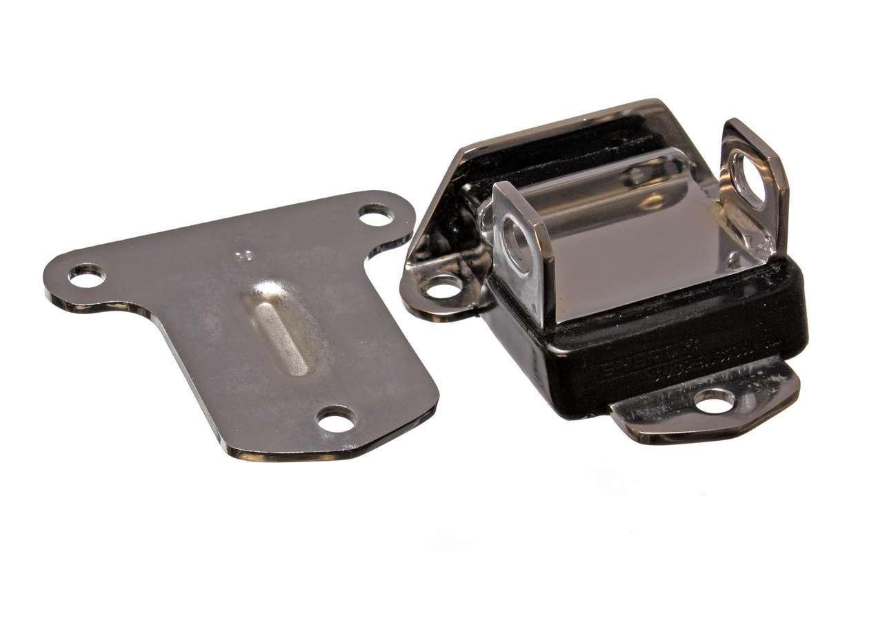 58-72 Chevy Chrome Motor Mount W/ Black Pad