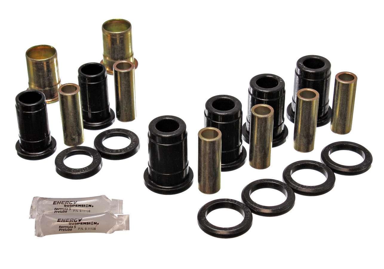 Energy Suspension 3-3153G Trailing Arm Bushing, Hyper-Flex, Rear, Polyurethane, Black, GM A-Body / B-Body 1959-64, Kit