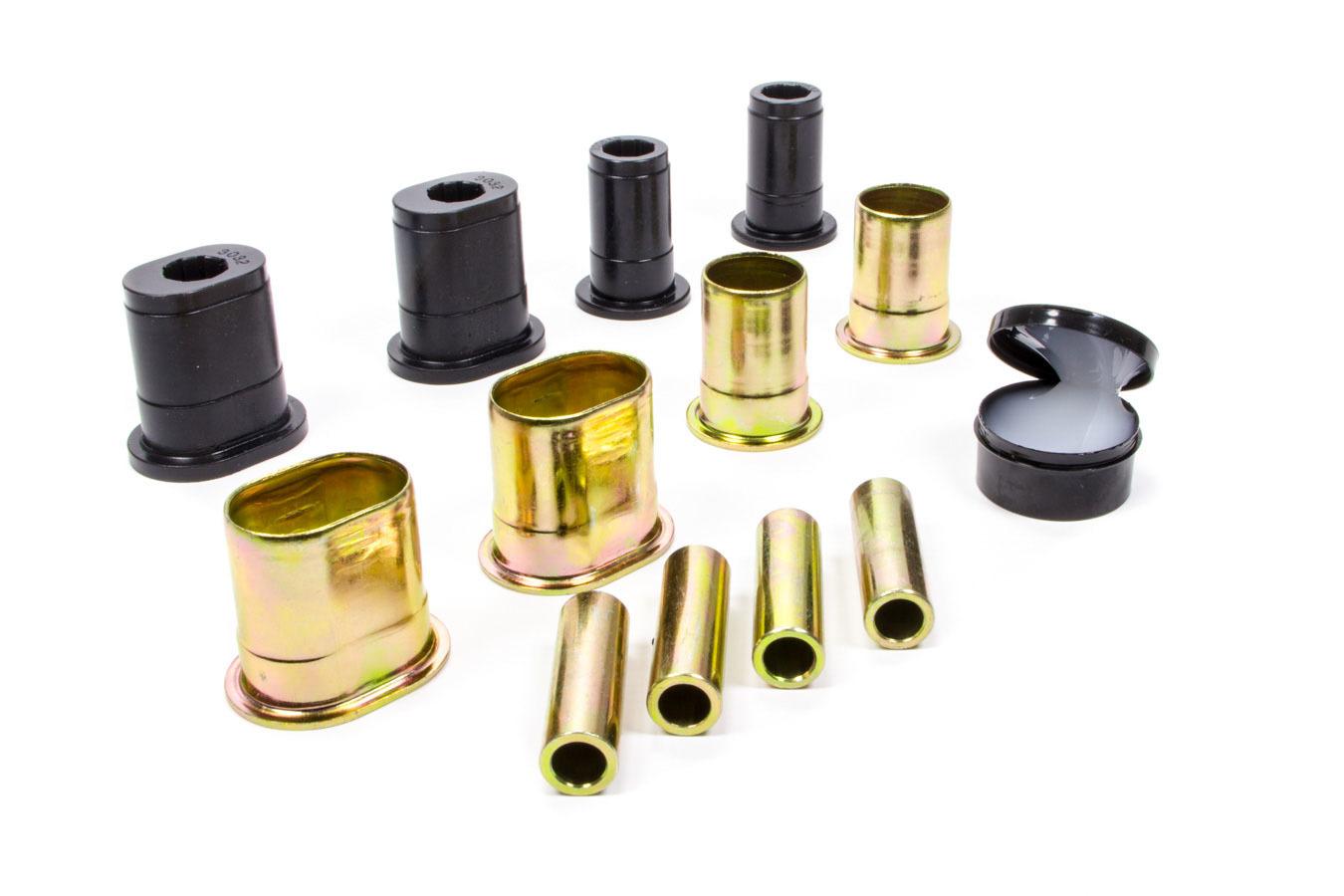 Energy Suspension 3-3168G Control Arm Bushing, Hyper-Flex, Front, Lower, Polyurethane, Black, GM A-Body 1966-73, Kit