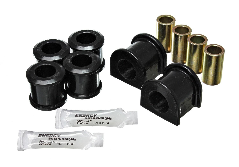 Energy Suspension 3-5212G Bushing Kit, Hyper-Flex, Front, 1 in bar, Polyurethane, Black, Hummer 1994-2004, Kit