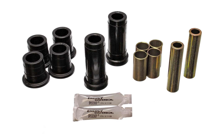 Energy Suspension 4-3111G Control Arm Bushing, Hyper-Flex, Front, Lower / Upper, Polyurethane, Black, Ford 1972-79, Kit