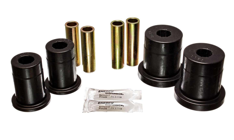 Energy Suspension 4-3132G Control Arm Bushing, Hyper-Flex, Front, Lower / Upper, Polyurethane, Black, Ford 1978-93, Kit