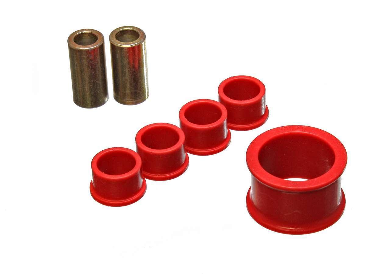Energy Suspension 7-10105R Rack and Pinion Bushing, Hyper-Flex, Polyurethane, Red, Infiniti G35 / Nissan 350Z 2003-09, Kit