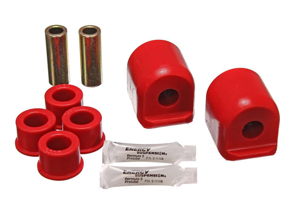 Energy Suspension 7-3109R Control Arm Bushing, Hyper-Flex, Front, Lower / Upper, Polyurethane, Red, Nissan Sentra / SX 1993-99, Kit