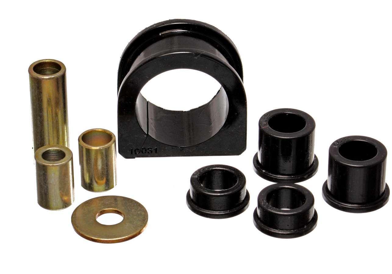 Energy Suspension 8-10101G Steering Rack Bushing, Hyper-Flex, Polyurethane, Black, Toyota Pickup / Tacoma 1995-2000, Kit