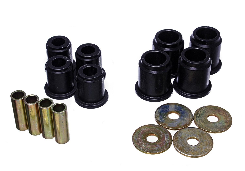Energy Suspension 8-3132G Control Arm Bushing, Hyper-Flex, Front, Lower / Upper, Polyurethane, Black, Toyota 4Runner 1996-2002, Kit